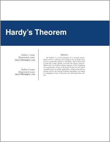 Sample Thesis Proposals and Theses: MA in Technical